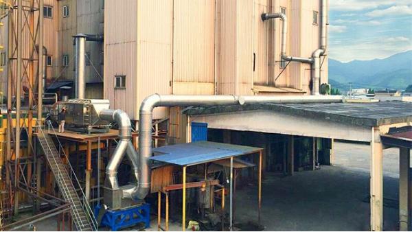 宁波正大农业有限公司技改采用的废气处理设备