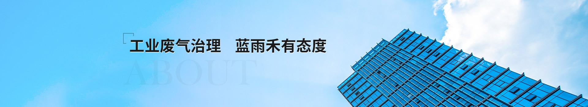 工业废气处理 蓝雨禾有态度