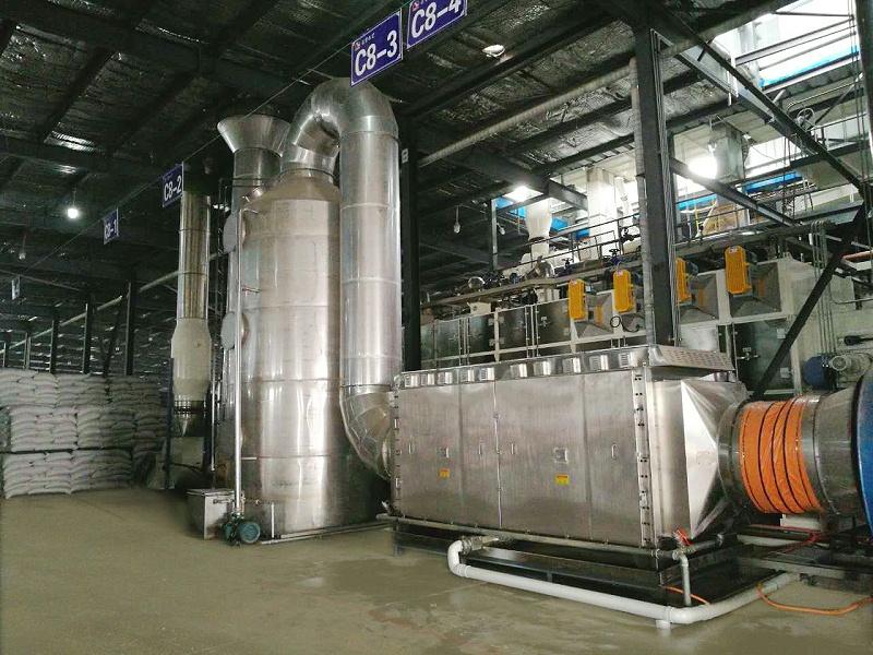 废气处理,废气处理设备,废气除臭设备,饲料厂废气处理,有机废气处理
