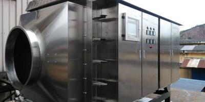 废气处理中设备在进行处理工作中的稳定性