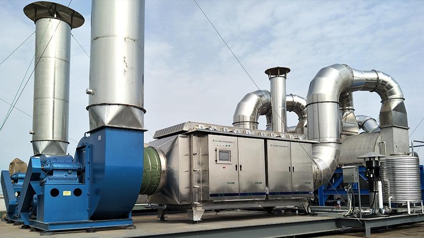 天津海大饲料废气处理工程